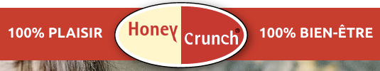 HoneyCrunch® is on Twitter and Facebook. Follow it !