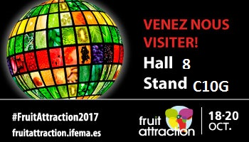 Retrouvez-nous au salon Fruit Attraction à Madrid!