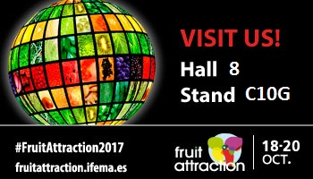 Come meet us at Fruit Attraction in Madrid