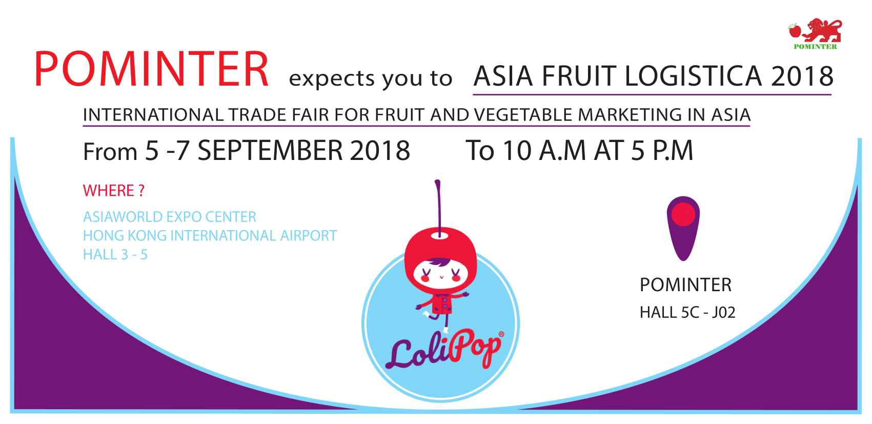 ASIAFRUIT LOGISTICA 2018 HONG KONG